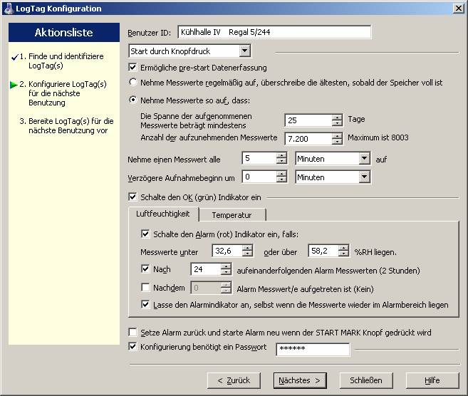 LogTag Data Loggers - Software
